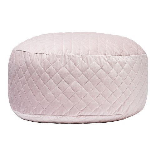 Dani T loves Vintage Lilac Quilted Velvet Floor Cushion, Adairs Kids