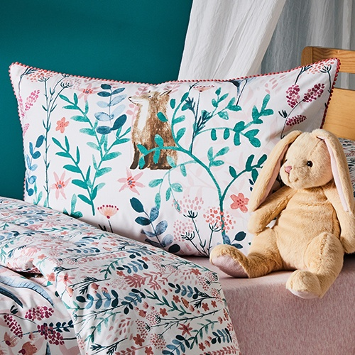 Dani T loves Enchanted Garden Multi Quilt Cover Set by Adairs Kids
