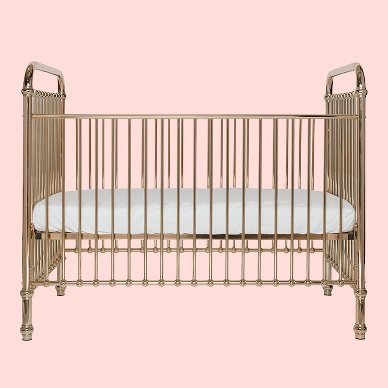 Dani T loves Ellie Cot Rose Gold by Incy Interiors