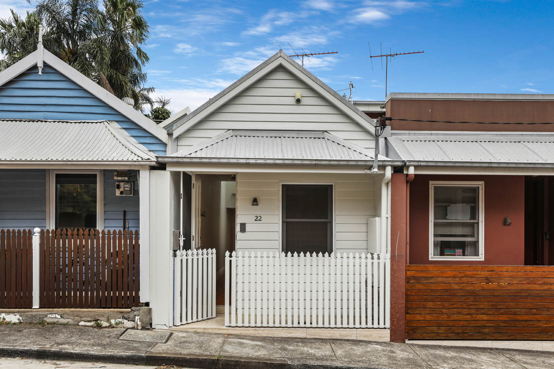 Styling a pretty Newtown terrace home without overcrowding